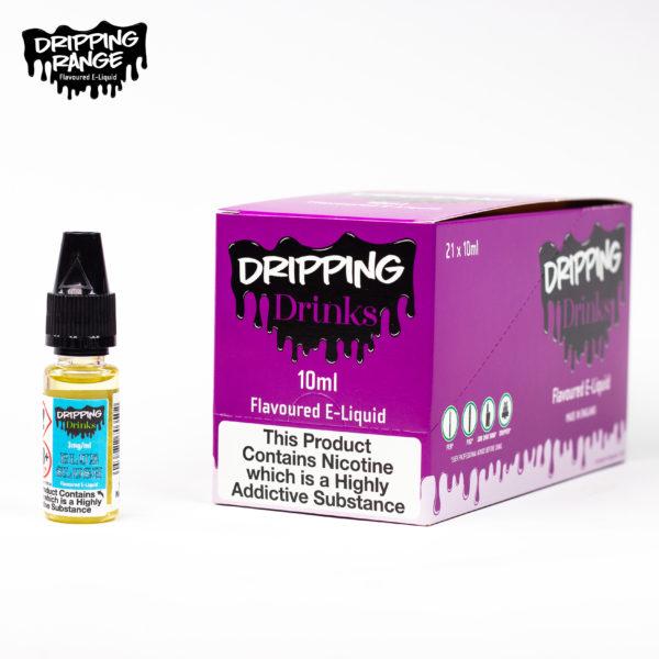 dripping range 10ml blue slush flavour