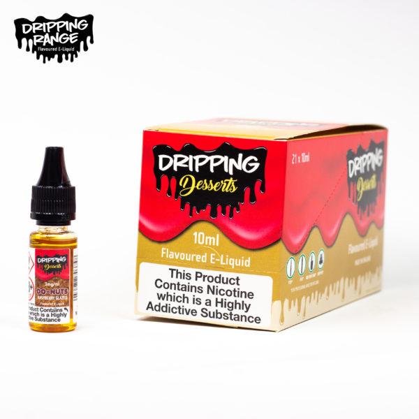 dripping range 10ml raspberry glazed flavour
