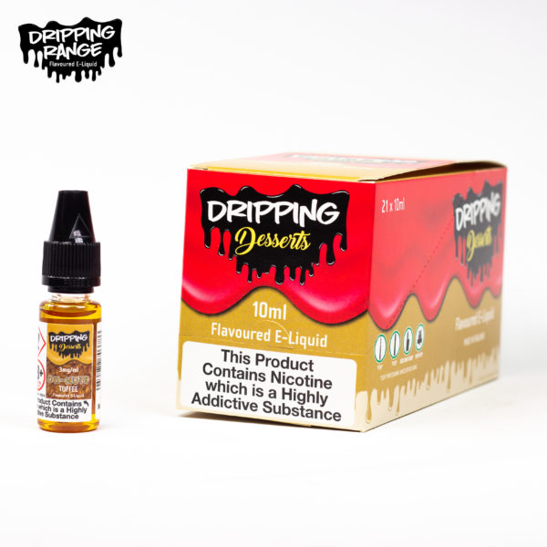 dripping range 10ml donuts toffee flavour