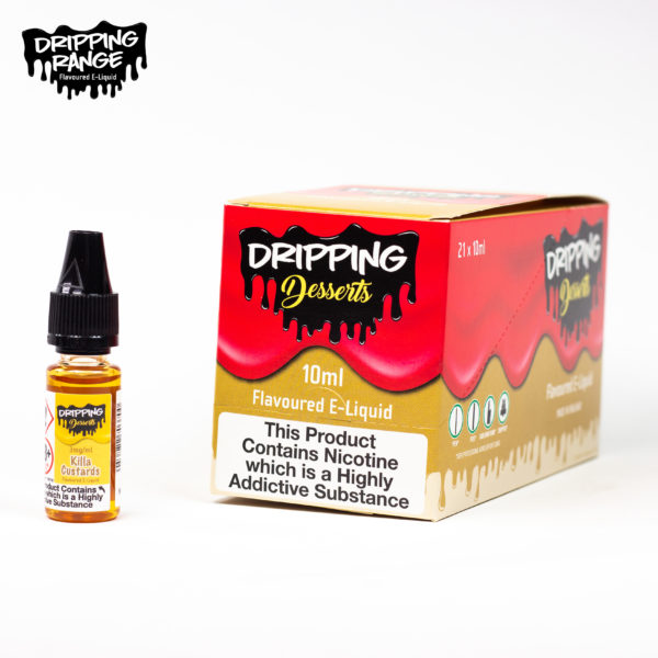 dripping range 10ml killa custard flavour