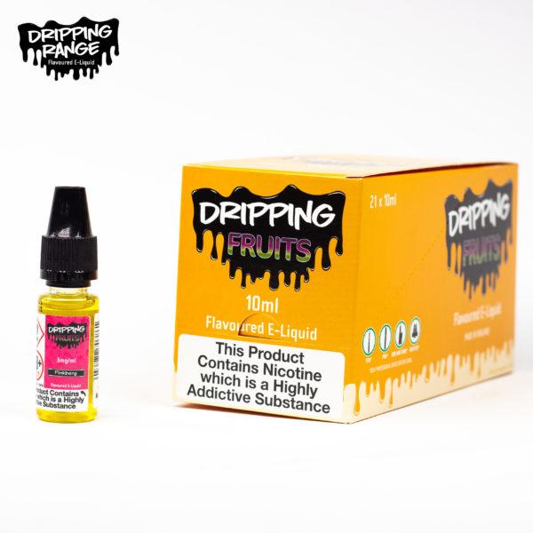 dripping range 10ml pinkberg flavour