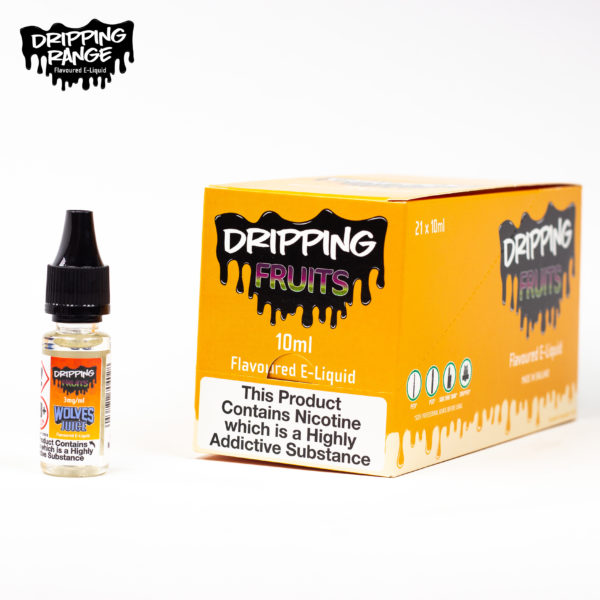dripping range 10ml wolves juice flavour
