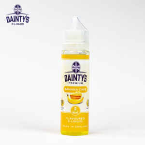Dainty's 50ml Banana Cake