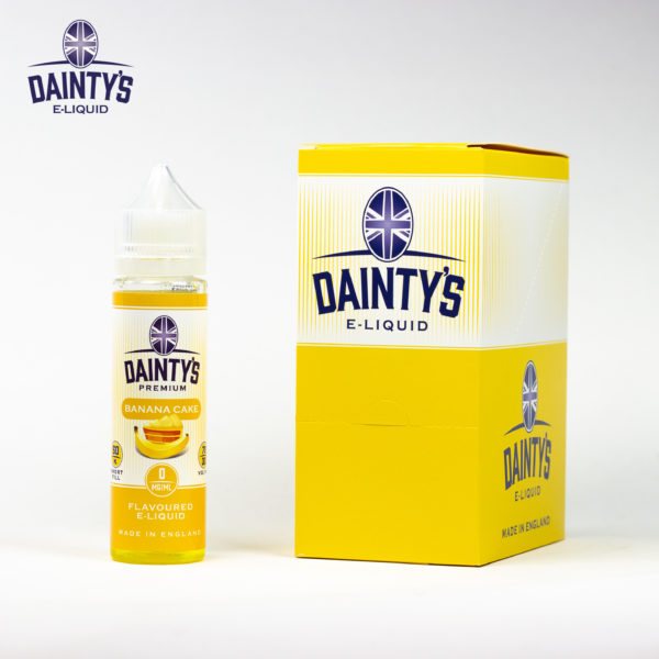 Dainty's 50ml Banana Cake