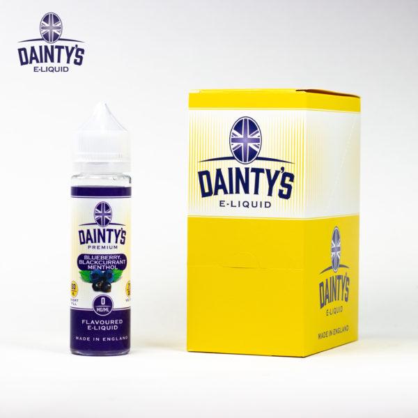 Dainty's 50ml Blueberry Blackcurrant Menthol