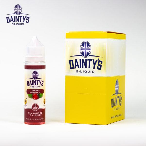 Dainty's 50ml Cherry Menthol