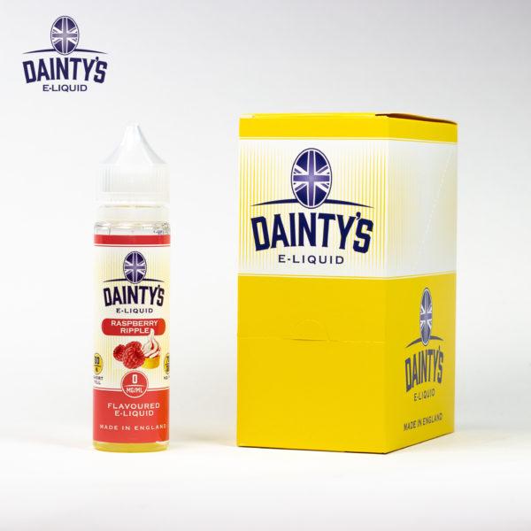 Dainty's 50ml Raspberry Ripple
