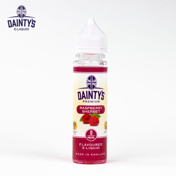 Dainty's 50ml Raspberry Sherbet