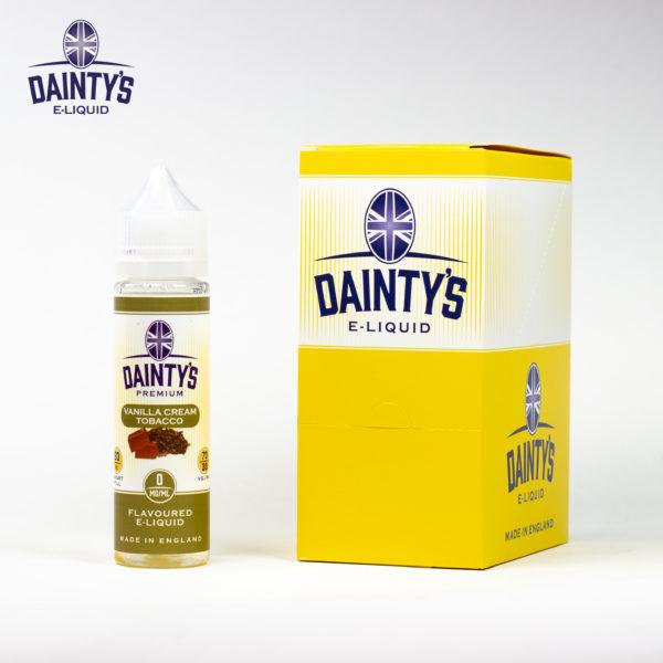 Dainty's 50ml Vanilla Cream Tobacco
