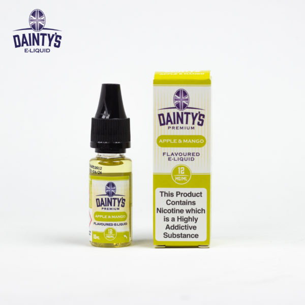Dainty's 10ml apple and mango