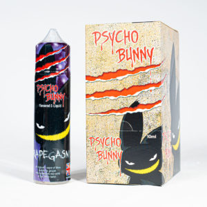 Eco Vape Psycho Bunny Grapegasm 50ml CDU 6