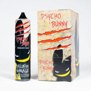 Eco Vape Psycho Bunny Yellow Mirage 50ml CDU 6