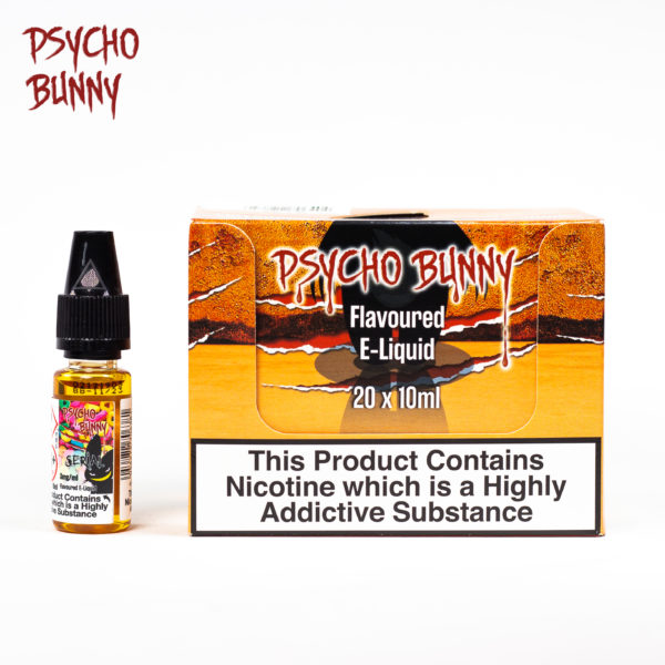 psycho bunny 10ml serial flavour