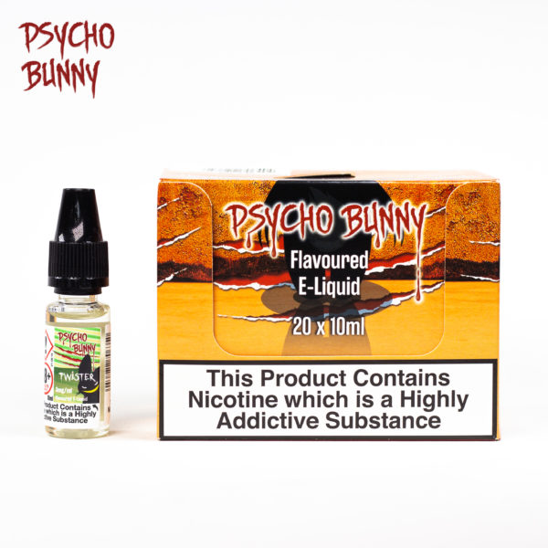 psycho bunny 10ml twister flavour
