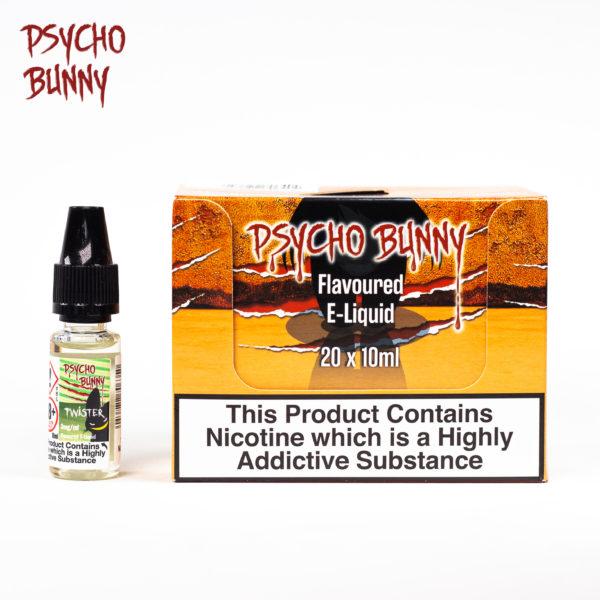 psycho bunny 10ml twister flavour