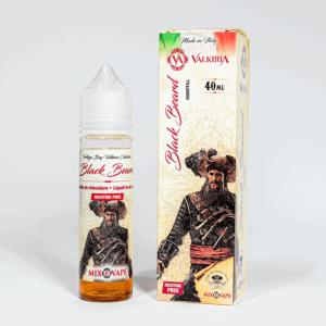 Eco Vape vaporArt range Black Beard Flavour 40ml Shortfill