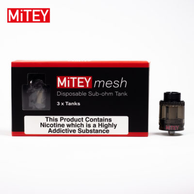 Mitey mesh Disposable Sub-ohm Tanks Pack of 3