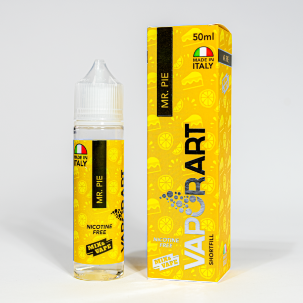 Eco Vape vaporArt range Mr Pie Flavour 40ml Shortfill