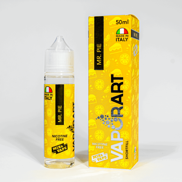 Eco Vape vaporArt range Mr Pie Flavour 40ml Shortfill