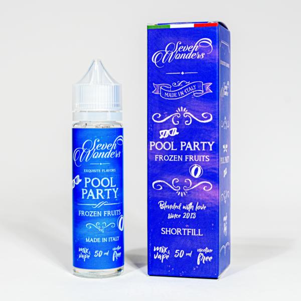Eco Vape vaporArt range Pool Party Flavour 40ml Shortfill