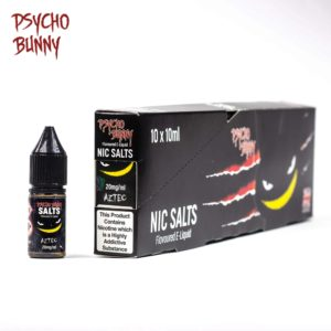 Psycho Bunny 10ml Nic Salts Aztec
