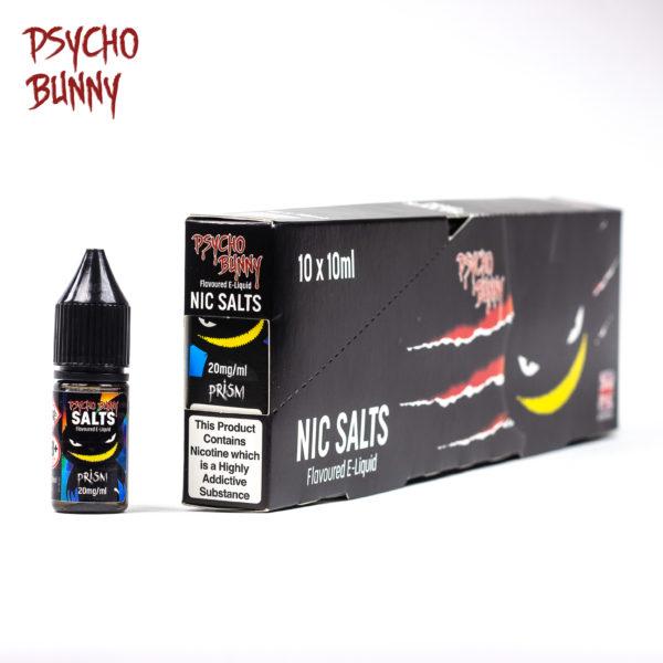 Psycho Bunny 10ml Nic Salts Prism