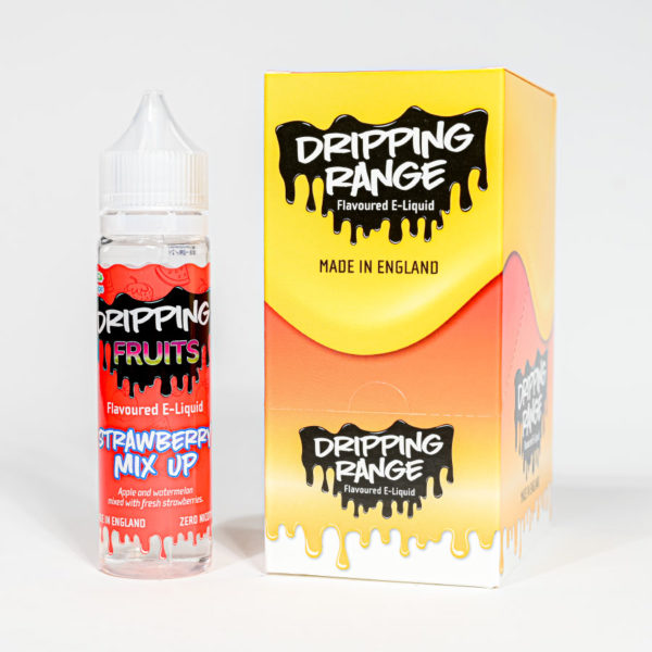 Eco vape Dripping range Strawberry Mix Up Flavour 50ml Shortfill