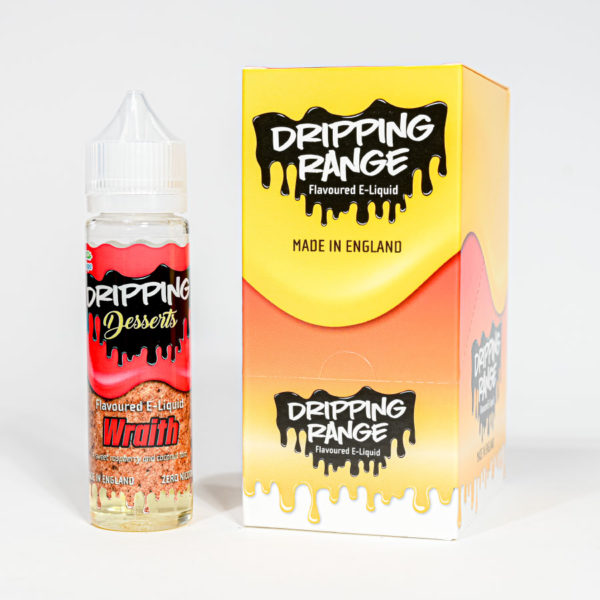 Eco vape Dripping range Wraith Flavour 50ml Shortfill
