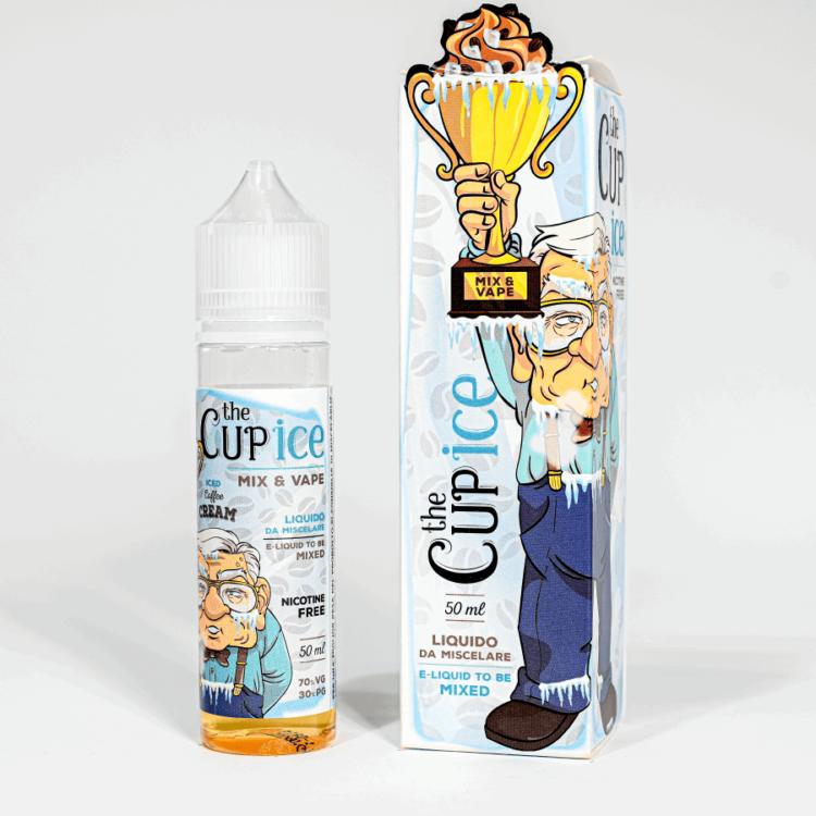 Eco Vape vaporArt range The Cup Ice Flavour 40ml Shortfill
