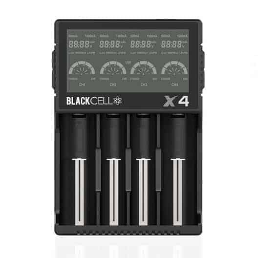 Blackcell X4 Quad Bay 18650 + More Charger