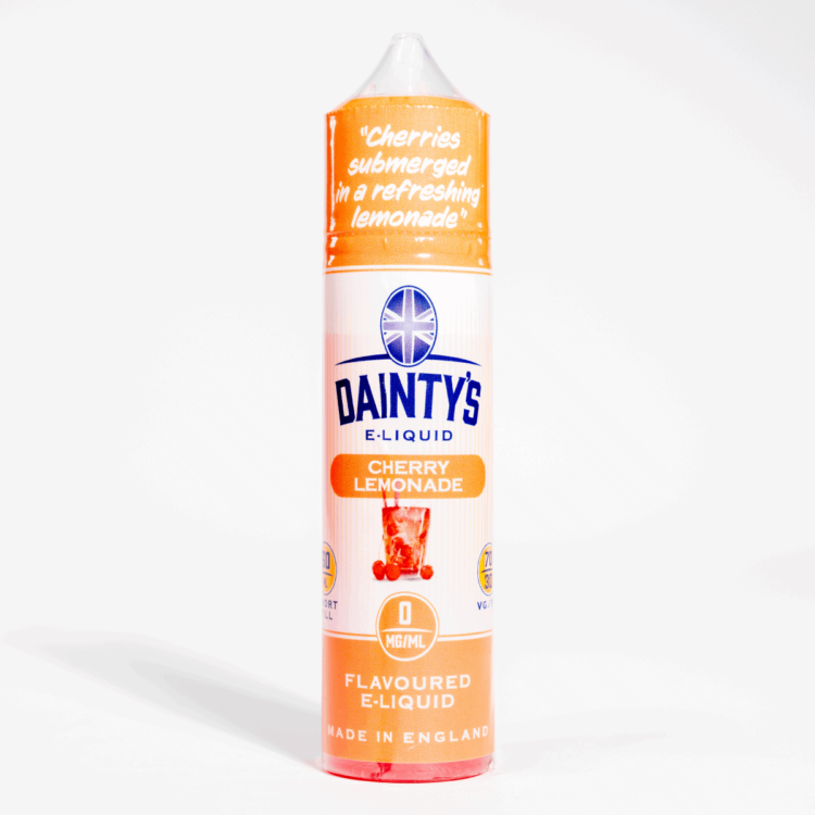 EcoVape Dainty's range Cherry Lemonade 50ml Shortfill