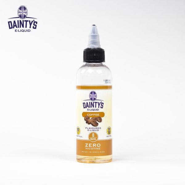 Dainty's 80ml coffee flavour