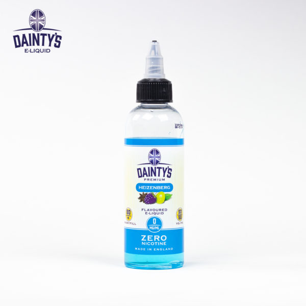 Dainty's 80ml heizenberg flavour