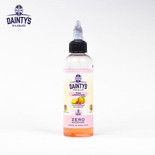 Dainty's 80ml pink lemonade flavour
