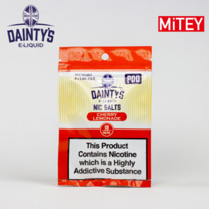 Dainty's Nic Salts Mitey Pod Cherry Lemonade