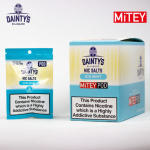 Dainty's Nic Salts Mitey Pod ice Mint