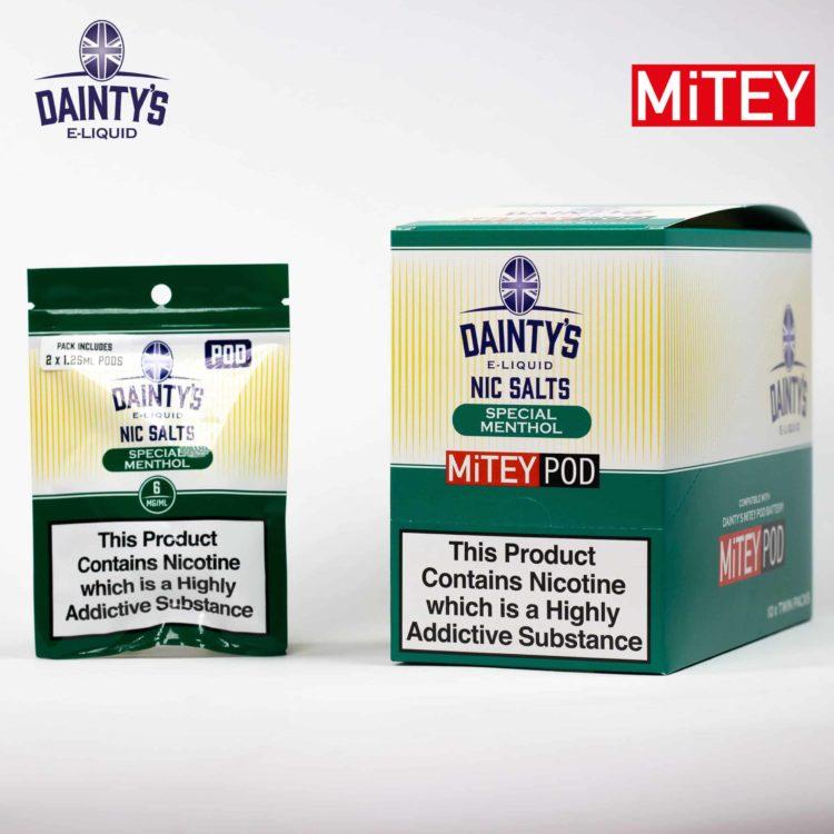 Dainty's Nic Salts Mitey Pod Special Menthol