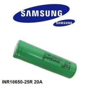 Samsung 25R INR 18650 3.7v 2500mAh
