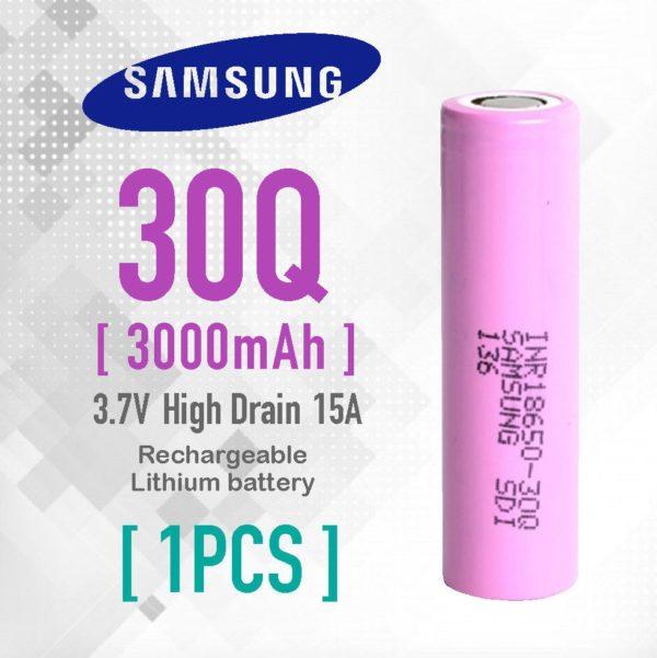 Samsung 30Q INR18650 3000mAh Battery