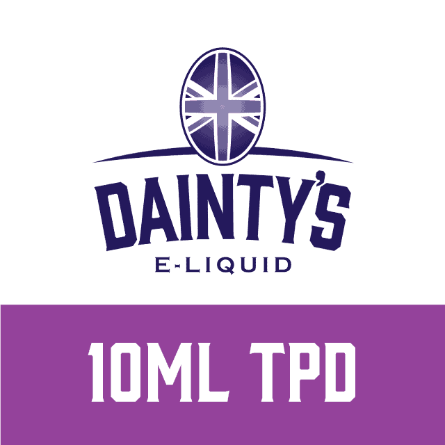 Dainty's Brand - 10ml TPD range