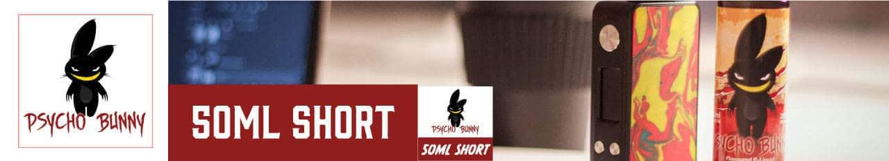 Psycho Bunny Brand - 50ml Shortfill range