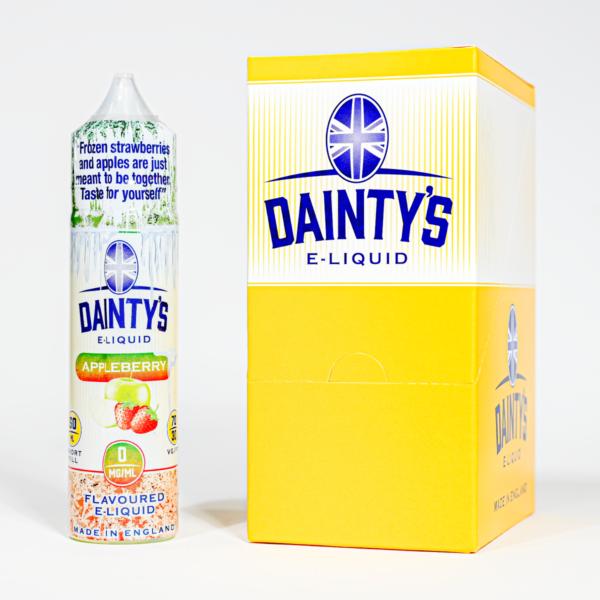 Eco Vape Dainty's Ice Appleberry 50ml 70/30 Shortfill