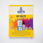 Dainty's Nic Salt 2 A4