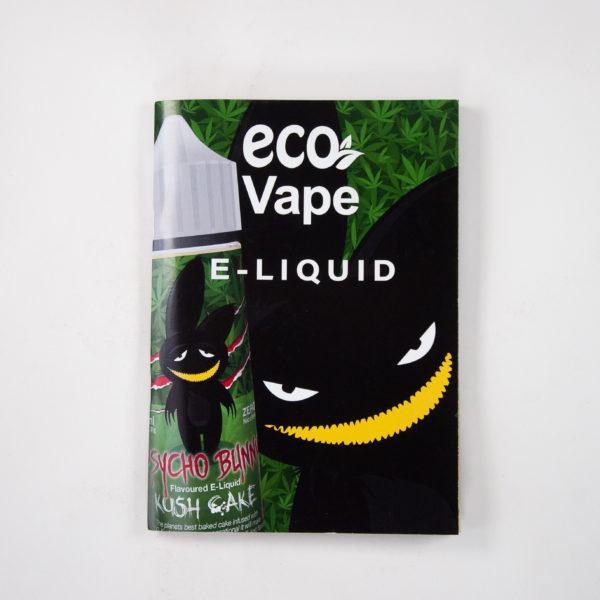PsychoBunny CBD e-liquid POS Poster