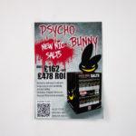 PsychoBunny Nic Salt Display Unit A4