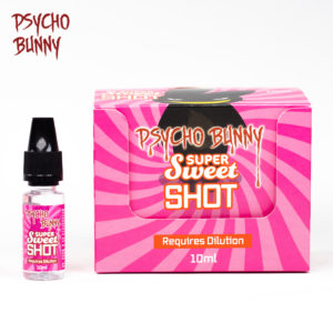 psycho bunny 10ml super sweet flavour shot