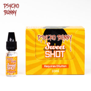 psycho bunny 10ml sweet flavour shot