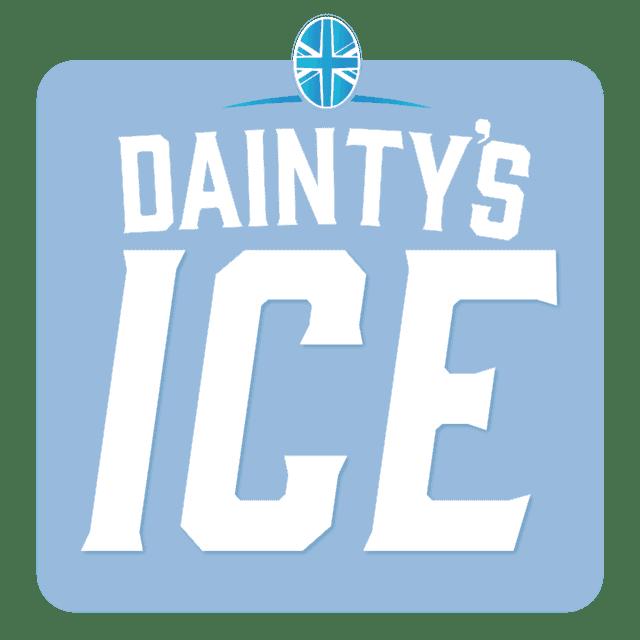 Dainty's 'ICE' Logo