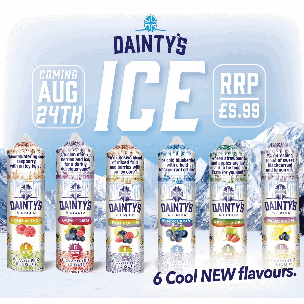 Dainty's ICE product launch! Pre-Order Now