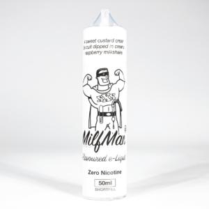 Eco Vape Milkshake Range Milfman 50ml shortfill 75/25